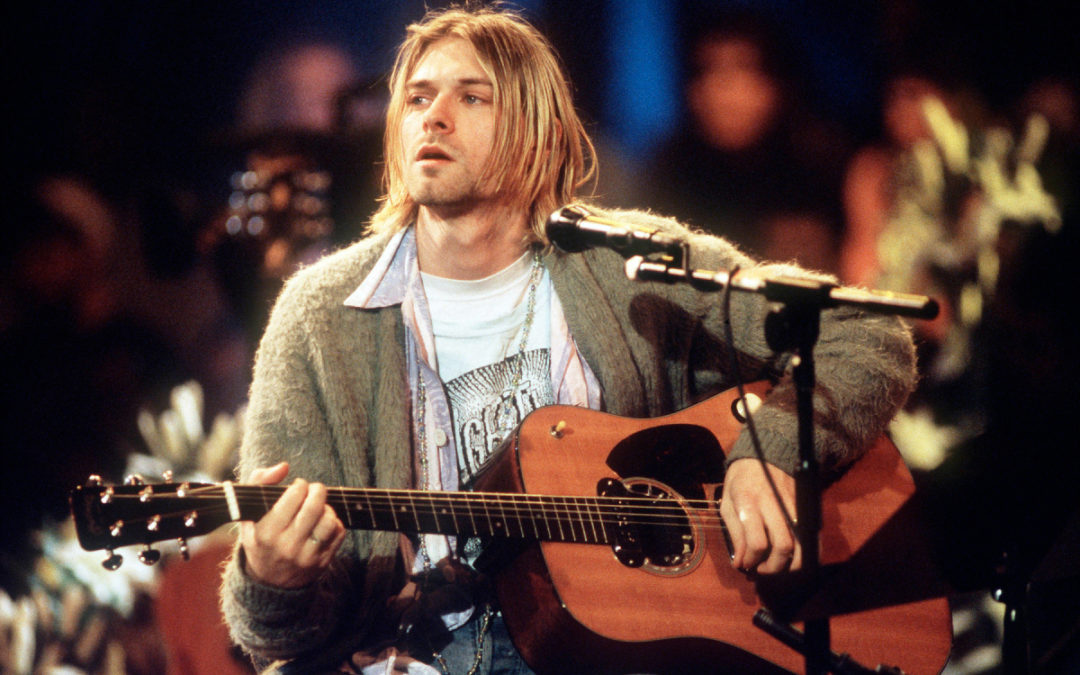 Kurt Cobain's 'Unplugged' Sweater Sells for Record $334,000 at Auction