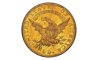 This $5 Gold Coin From 1822 Just Sold for $8.4 Million, Shattering Auction Records